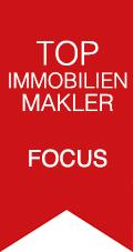 Auszeichnung Top Immobilienmakler Focus