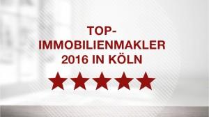 Auszeichnung zum Top Immobilienmakler in Köln