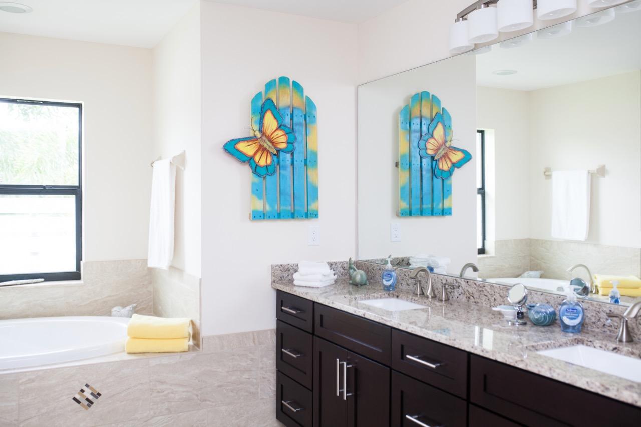 Master-Bathroom Ferienhaus
