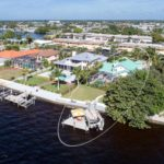 Riverfront House in Cape Coral Florida