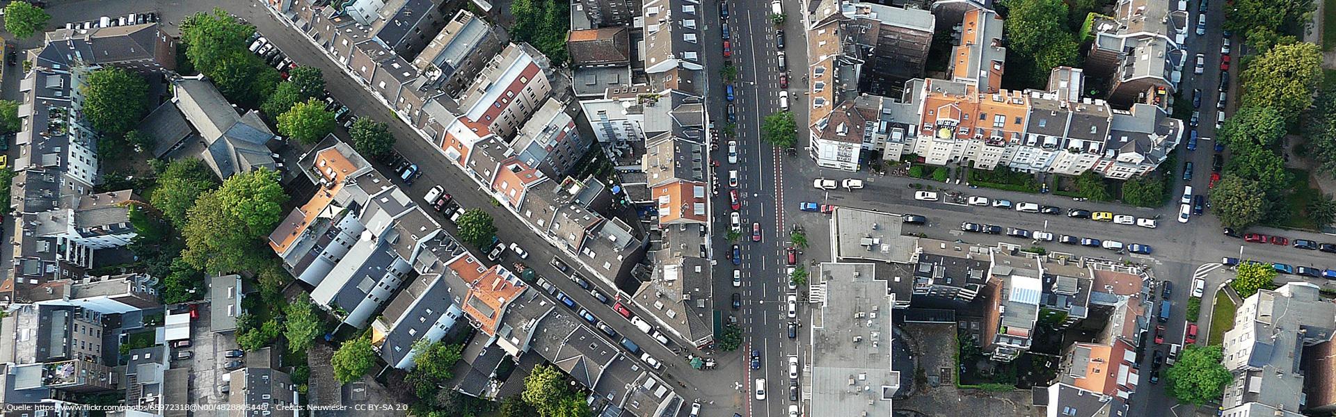 Köln Nippes cologne Kreuzung Neusser Straße Goost Immobilien