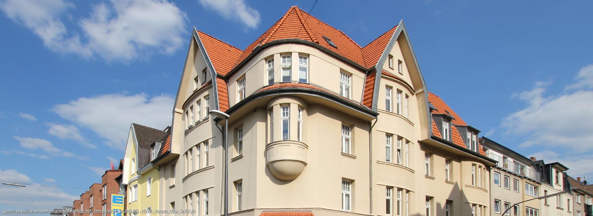 Das wohnen im Veedel Sülz in Köln