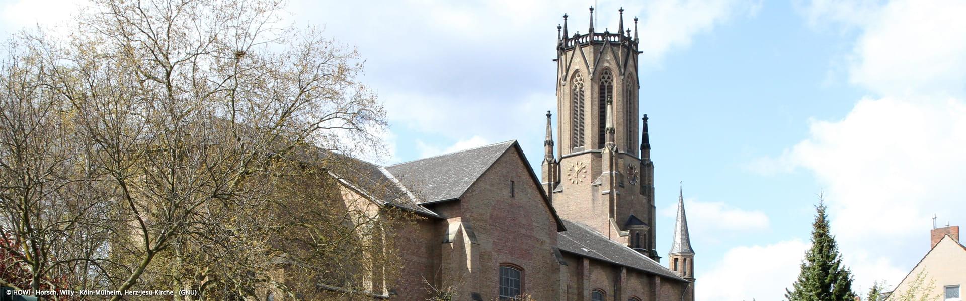 Herz-Jesu-Kirche Köln-Mülheim