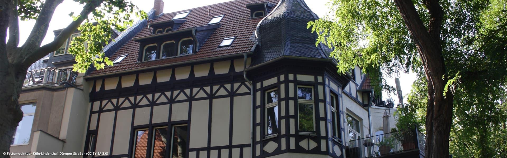 Köln-Lindenthal, Dürener Straße