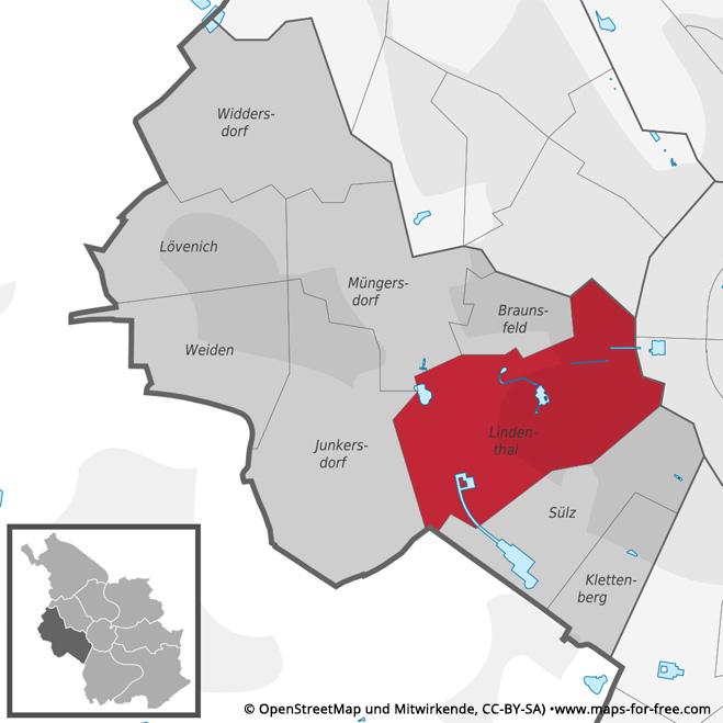 Lindenthal-karte