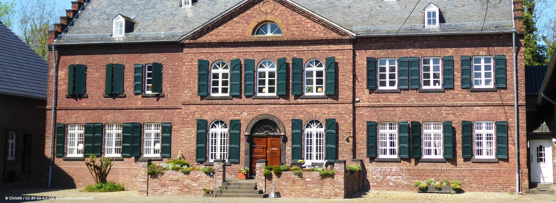 Widdersdorf Hofanlage Burghof