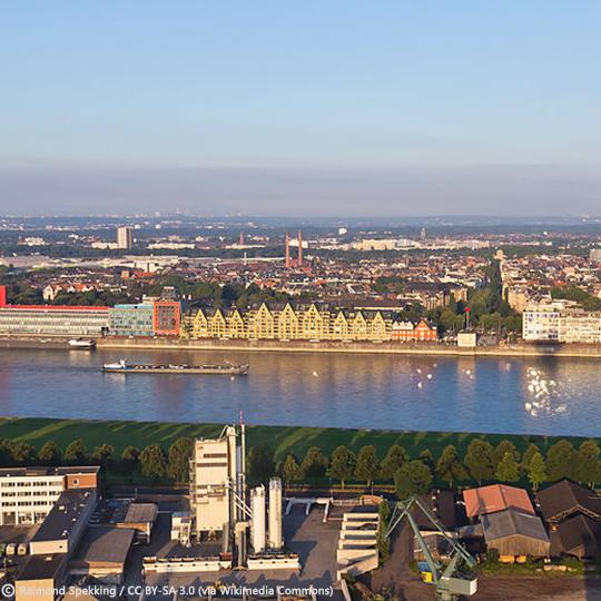 Entwicklung Deutzer Hafen Köln