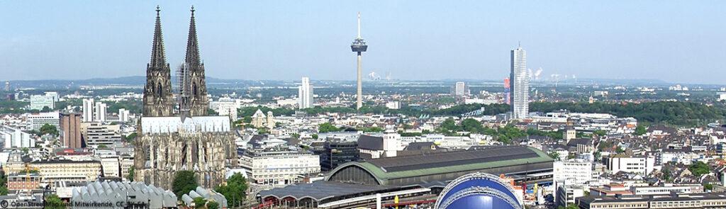 Kölner Dom, Entwicklung Köln Innenstadt