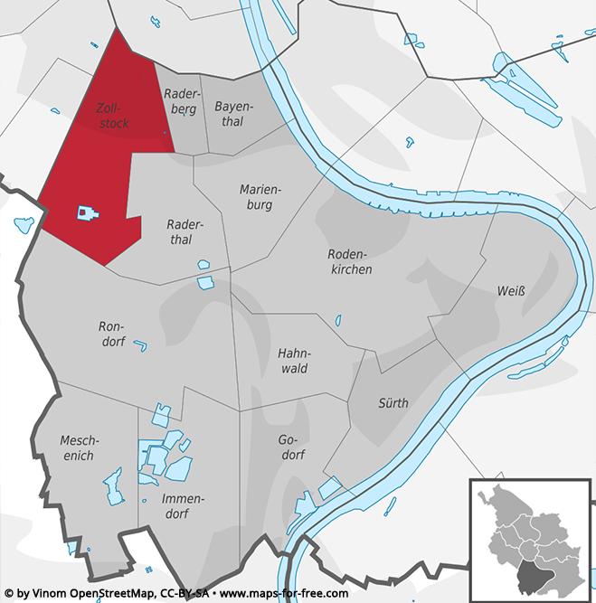 Köln Veedel Zollstock | Goost Immobilien