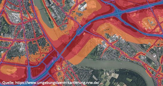 Immobilienfachmann Christian Goost, Lärmkarte Köln Westhoven